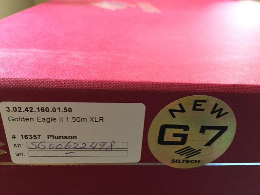 Siltech Cables Golden Eagle II (AES/EBU) digital XLR 1.5m cable