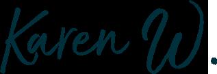 Karen W. signature