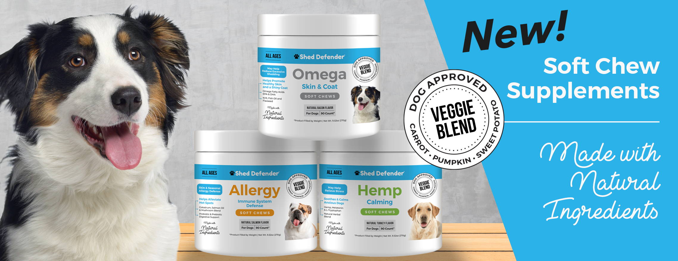 soft chew supplements for dogs