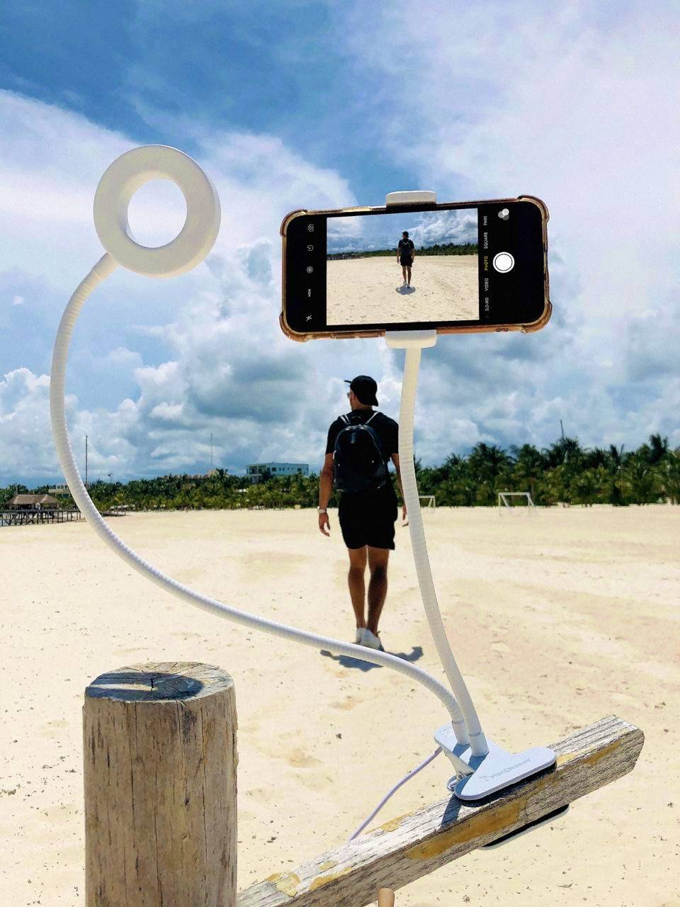 Best Flexible Phone Holder with Clamp, How to make pictures solo.