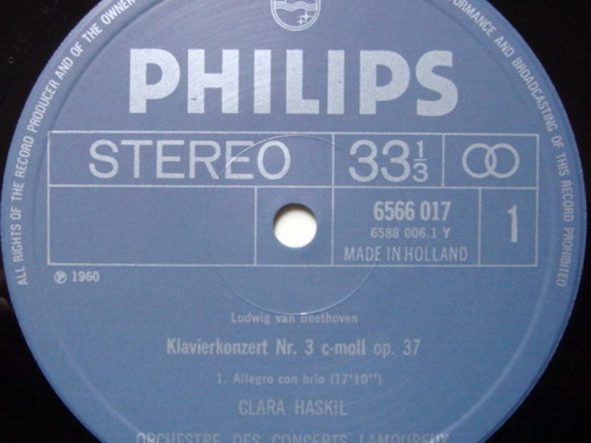 Philips / HASKIL-MARKEVITCH, - Mozart Piano Concerto No.3, NM!