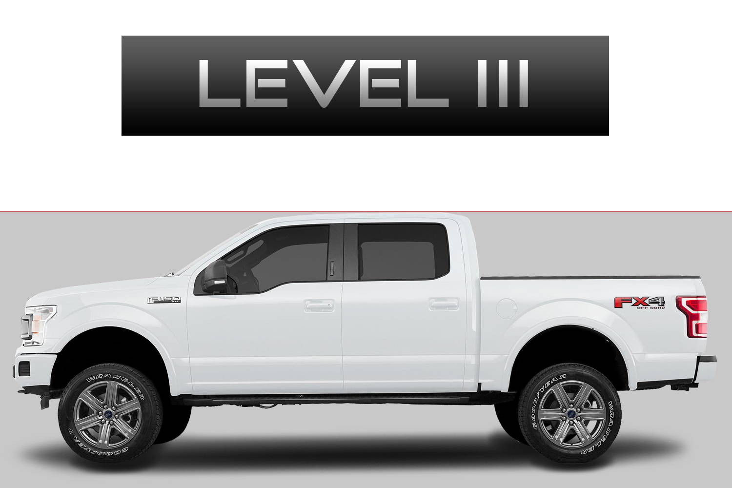 Ford F150 Off-Road Customizing Package Level 3 by 3C Trucks