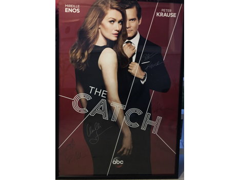 The Catch Poster signed by cast