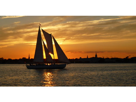 Sunset Sail on Oyster Bay for Four