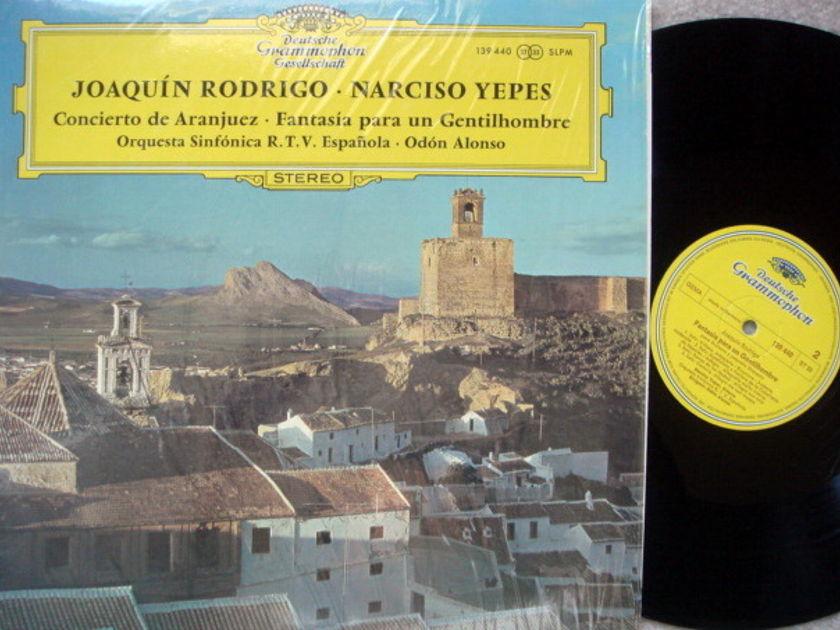 DGG / NARCISO YEPES-ALONSO, - Rodrigo Aranjuez Concerto, NM!