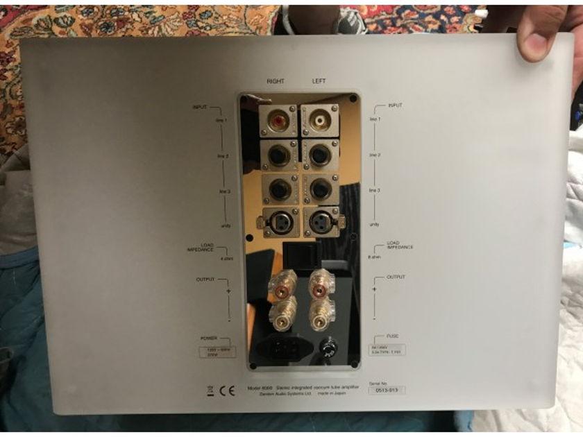 Zanden Audio 6000 Integrated Amplifier tube
