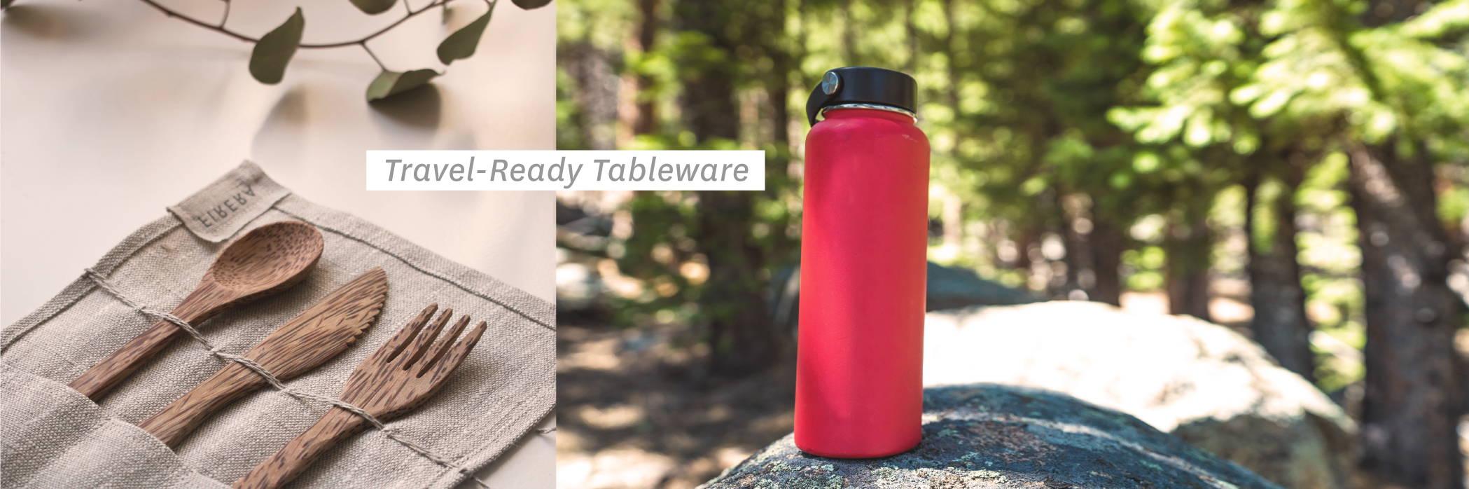 TRavel-Ready Tableware