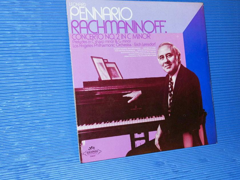 """RACHMANINOFF / Pennario - """"Concerto No 2"""" -  Seraphim 1974 SEALED"""