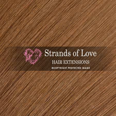Strands Of Love Hair Extensions Colour Light Hazel Brown