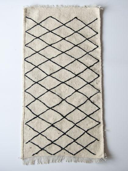 Шерстяной берберский ковер