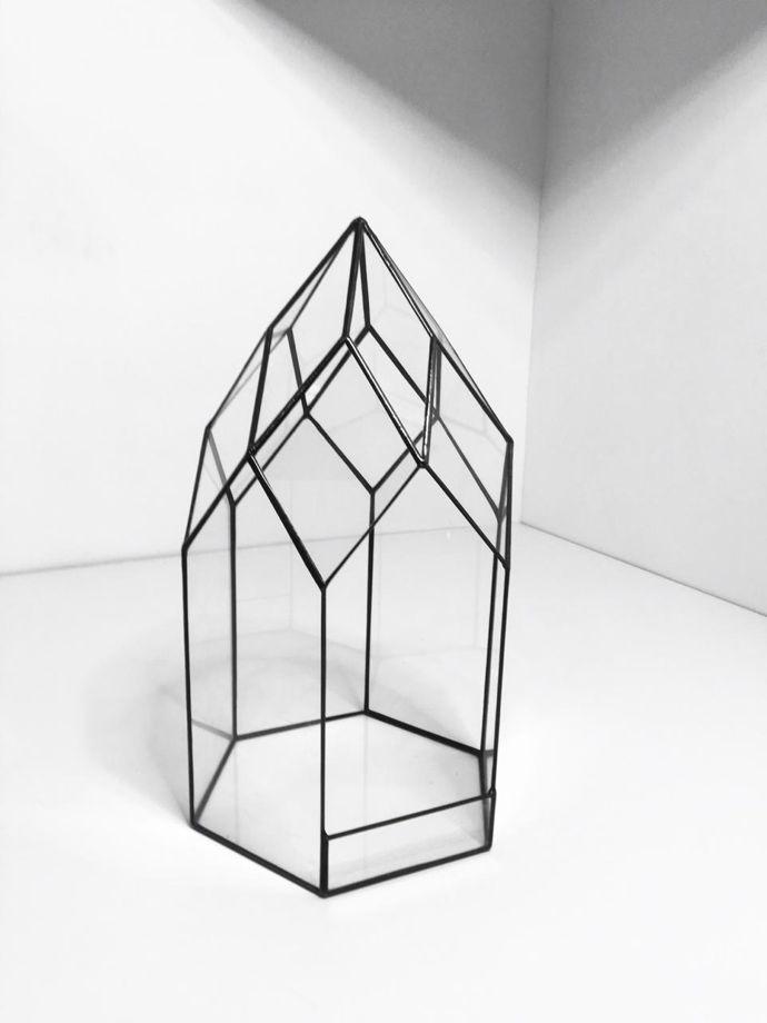 """Флорариум  """"Орхидариум Нежность"""" мини пустой"""
