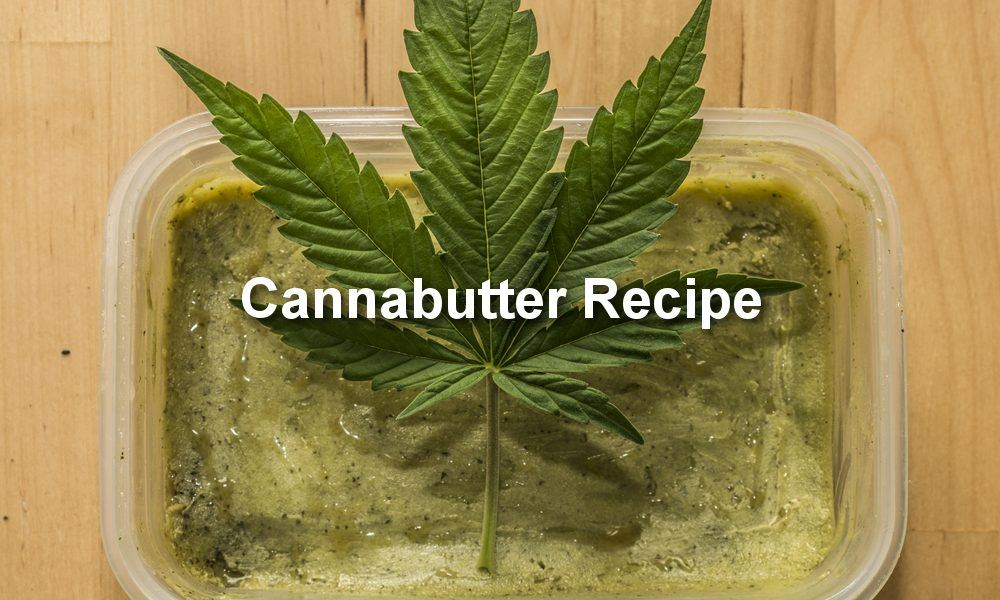Cannabutter is perfect for medical and recreational usw