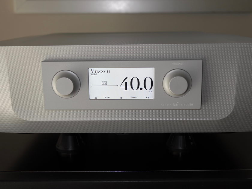 Constellation Audio Virgo II  Preamplifier