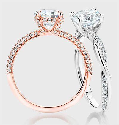 Custom Diamond Engagement Rings Australia