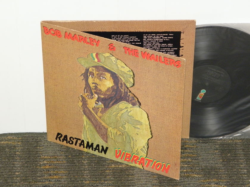 "Bob Marley & The Wailers - ""Rastaman Vibration"" Gatefold Cover Island ILPS 9383 First labels STERLING matrix"