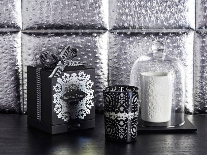 Christian Lacroix by Welton London Scented candles collection, limited edition made in France