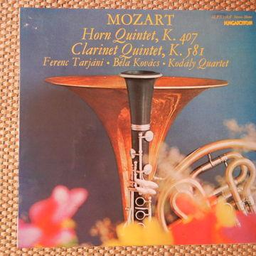 Horn Quintet & Clarinet Quintet