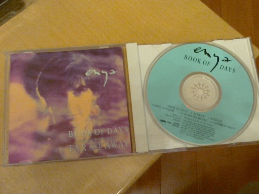 Enya -  - Book of Days (Rare Japan 4-track EP)