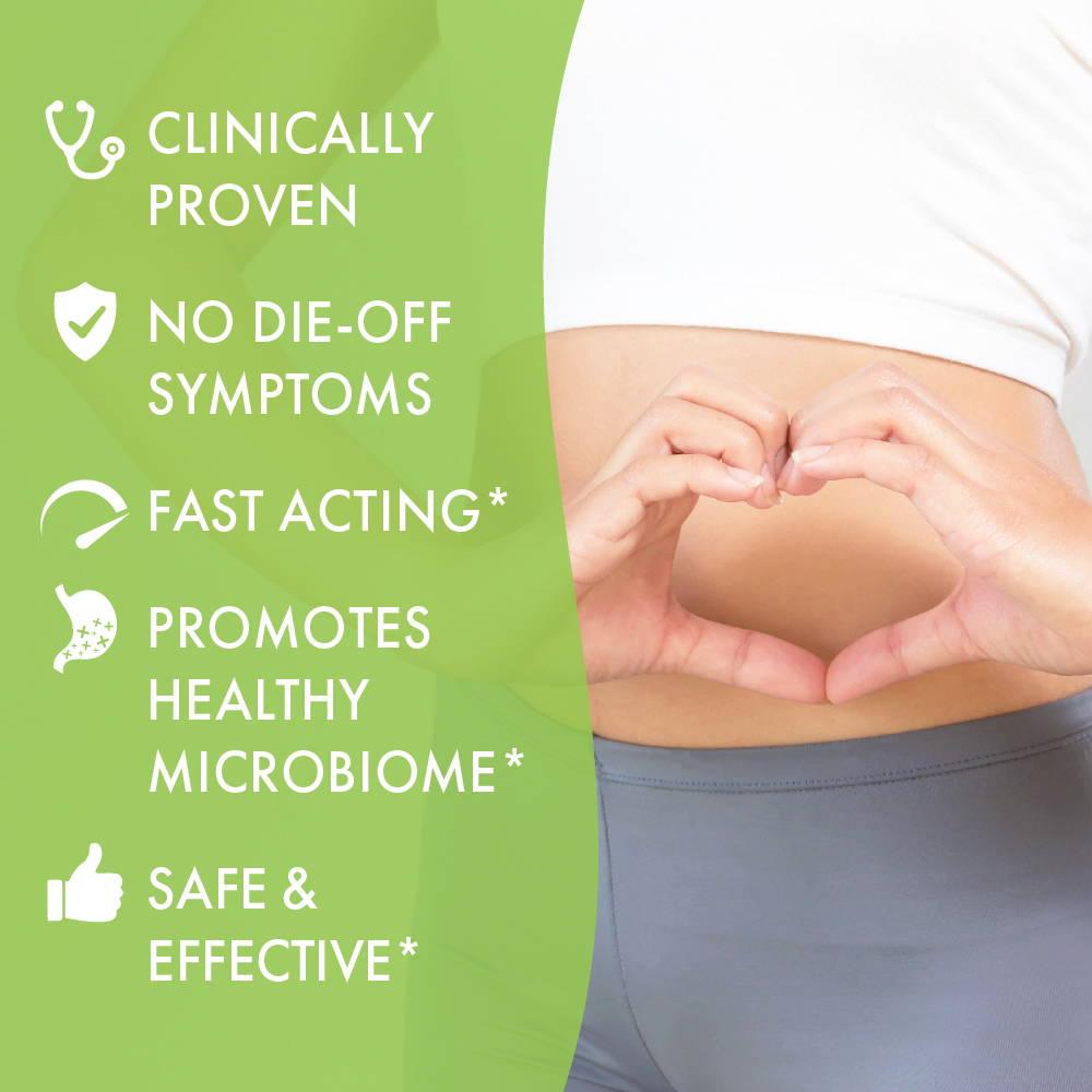Candida promotes gut health