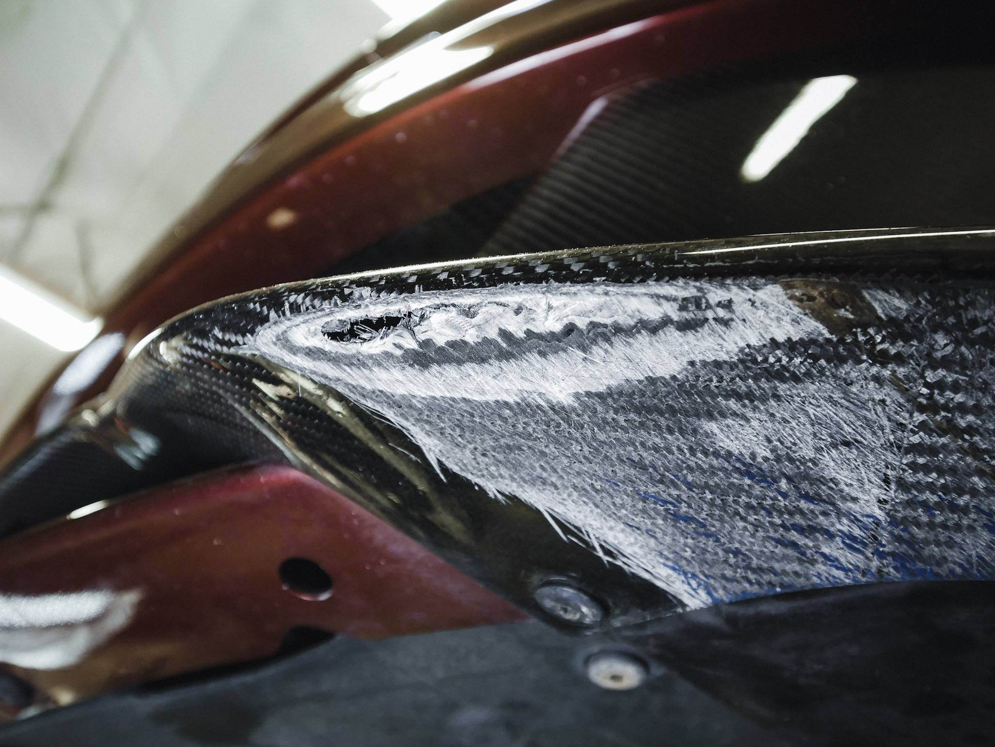 Aston Martin Vanquish After 30,000 Miles - Scrape Armor