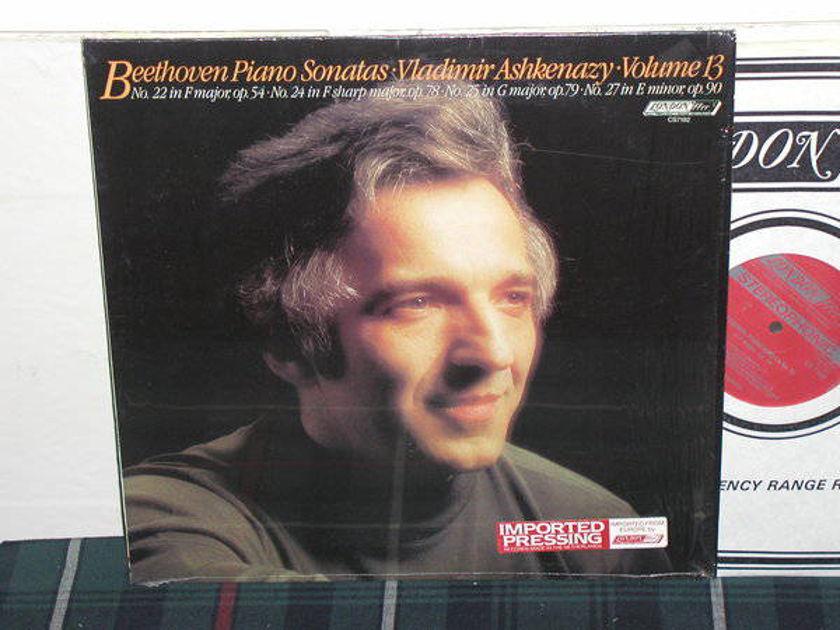 Vladimir Ashkenazy - Beethoven Sonata V13 London ffrr/narrow cs7192