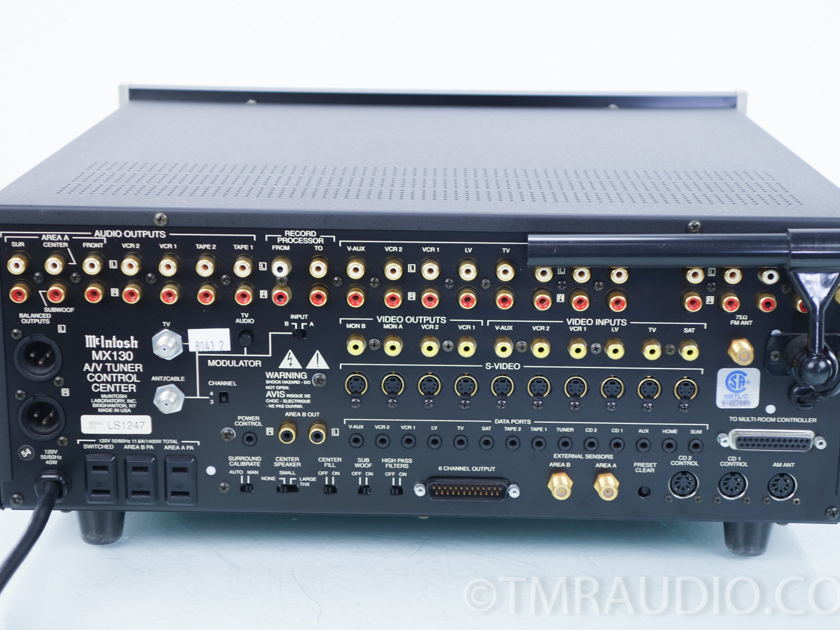 McIntosh MX130  A/V Tuner /Preamplifier / Processor (8043)