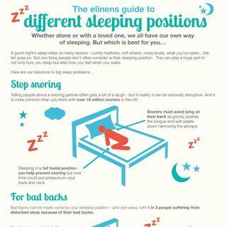 A guide to different sleeping positions