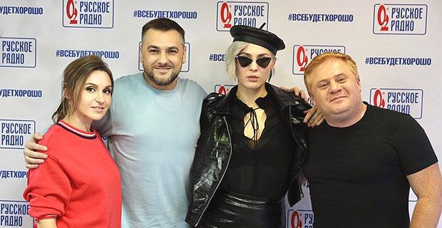Maruv стала гостьей утреннего шоу «Русские Перцы» на «Русском Радио» - Новости радио OnAir.ru
