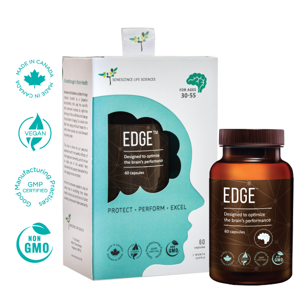 EDGE Brain Supplement - Mental Endurance For The Marathon Of Life