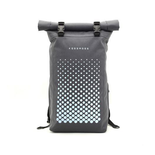 Рюкзак роллтоп / Серая городская сумка / RollTop Backpack