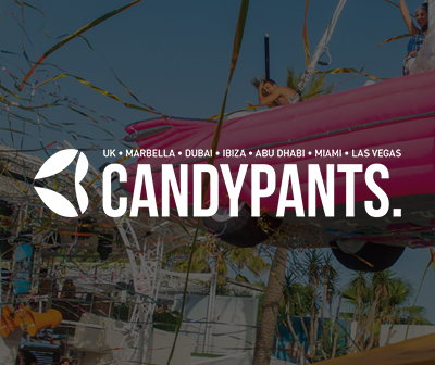 fiestas domingos O beach club sundays, Candypants 2020 tickets
