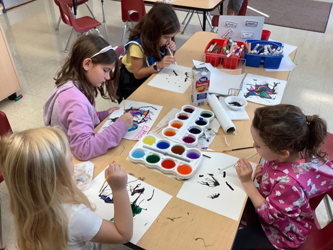 Using different materials and techniques to create their own Masterpiece!!