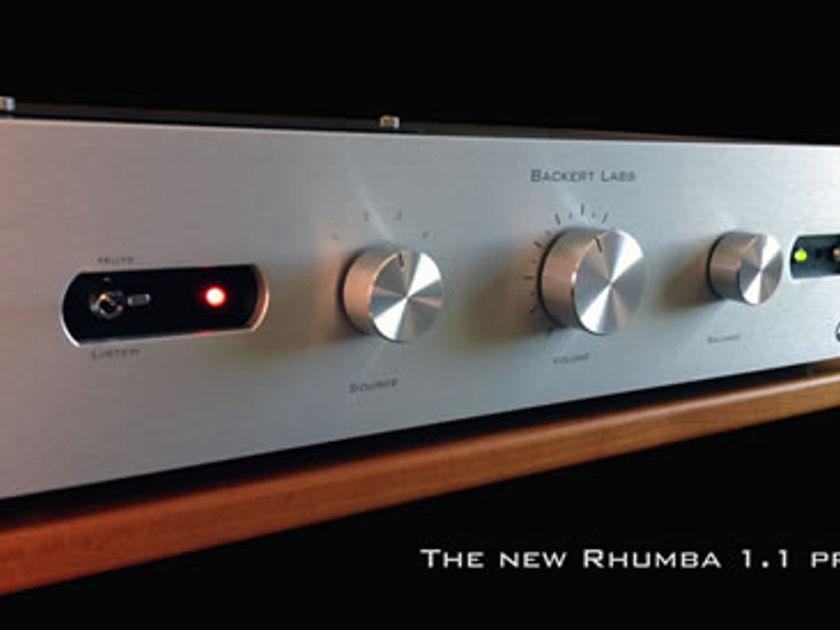 Backert Labs Rhumba 1.1 Stereo Preamplifier
