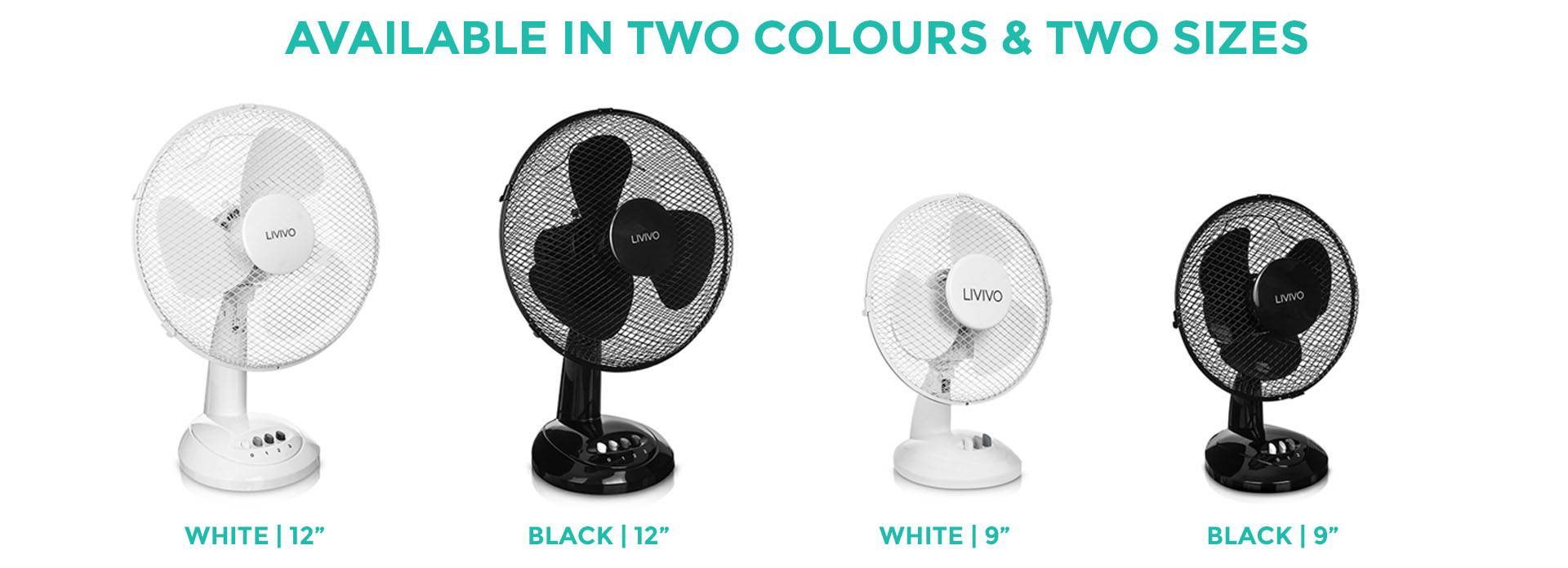2 Colors & 2 Sizes