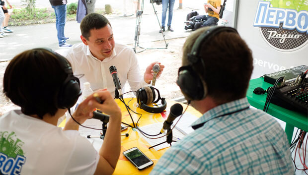 В Краснодаре сотрудники «Первого радио» провели праздничный квест - Новости радио OnAir.ru