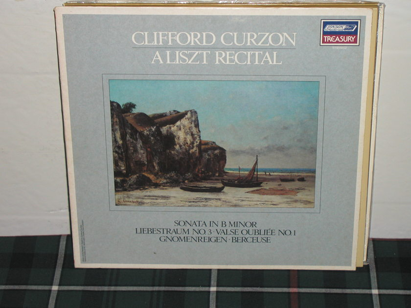 Curzon - Liszt Sonata in Bm London ffrr STS 15552