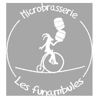 logo bière Funambules collaboration zéro déchet