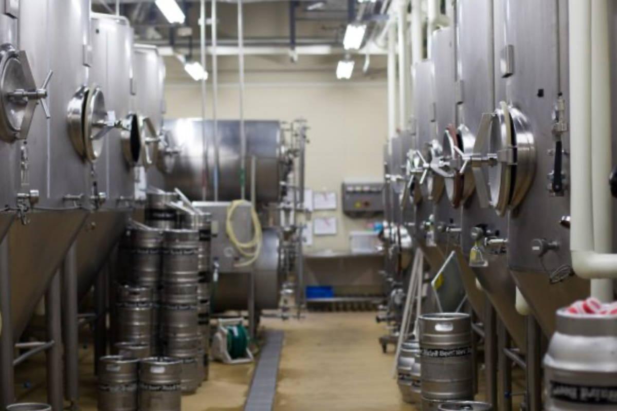 ベアードブルワリー醸造タンク
