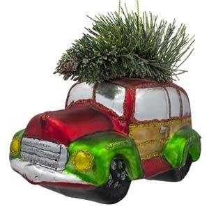Transportation Christmas Ornaments