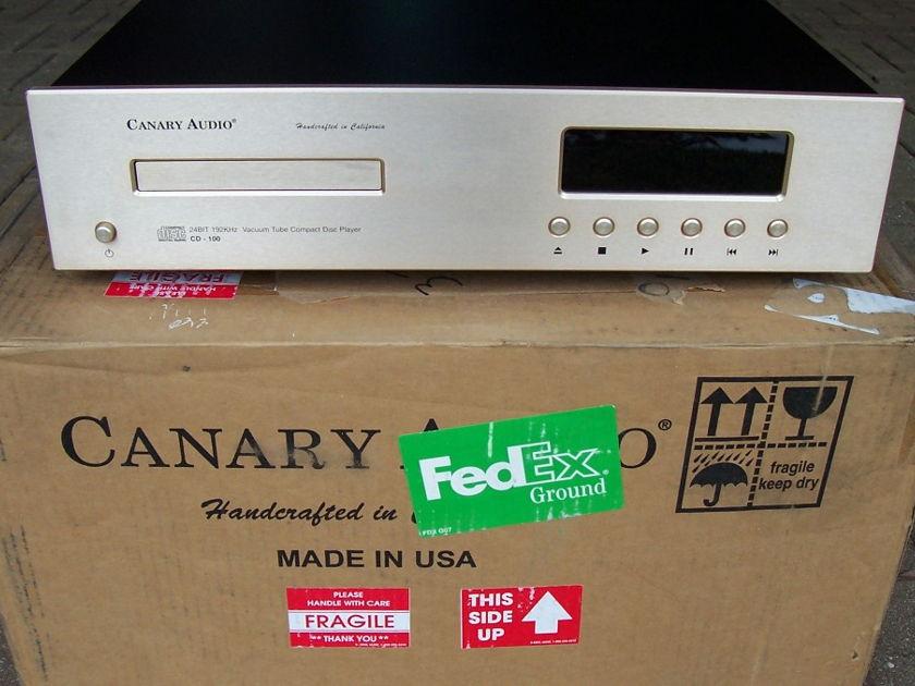 Canary CD100 Balance tubed CD player