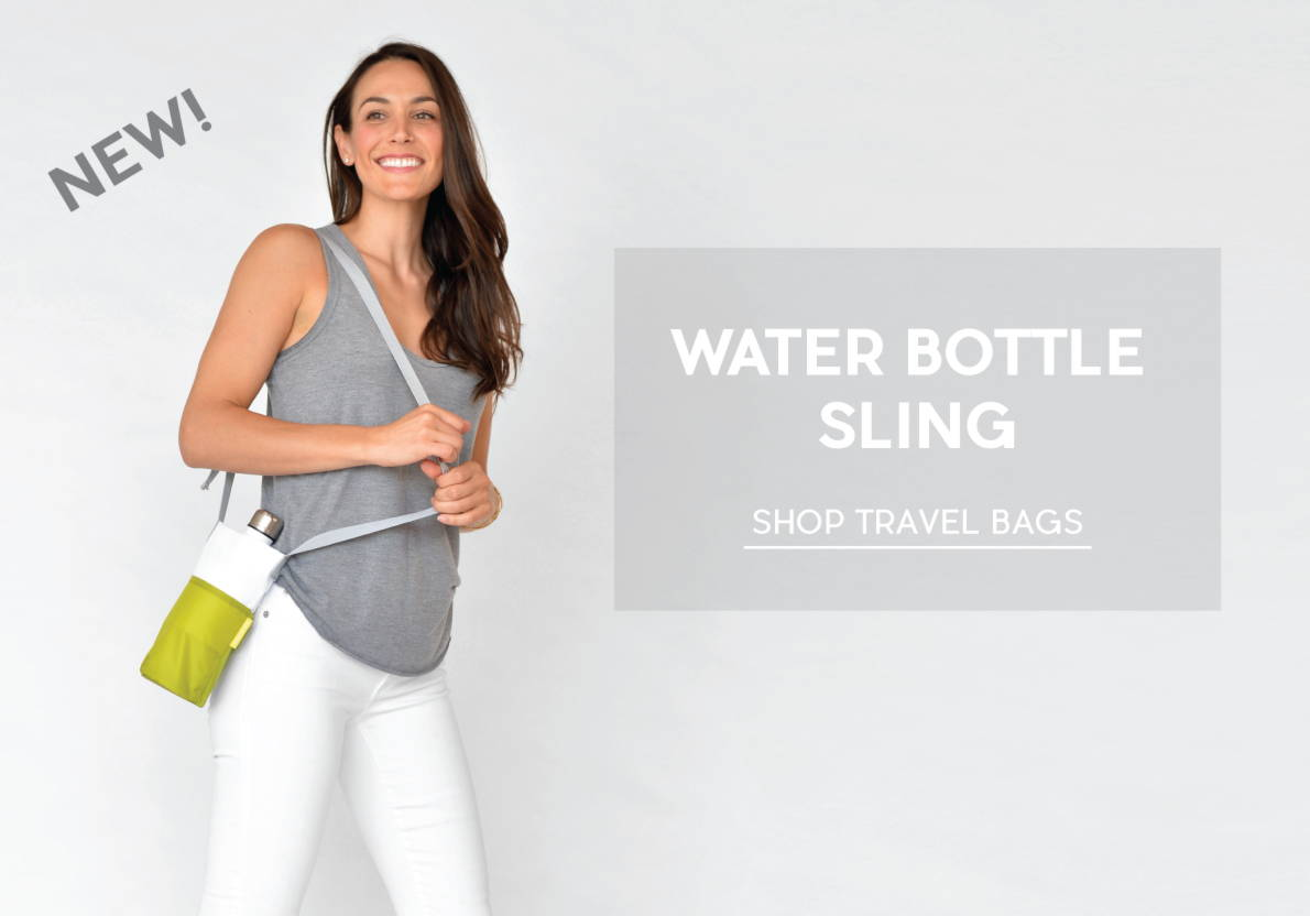 water bottle bag sling