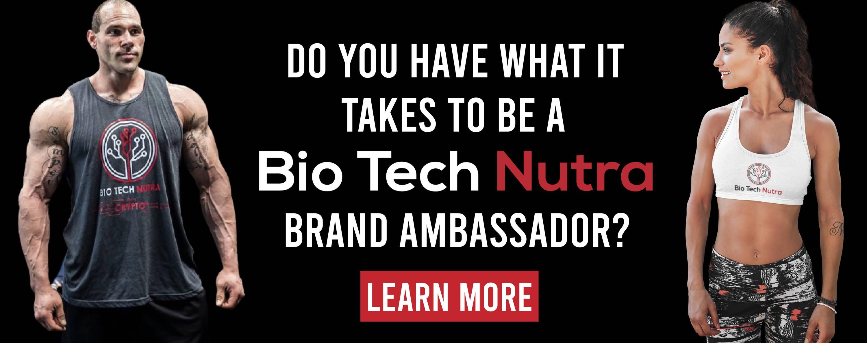 Be a Biotech Nutra Band Ambassador.