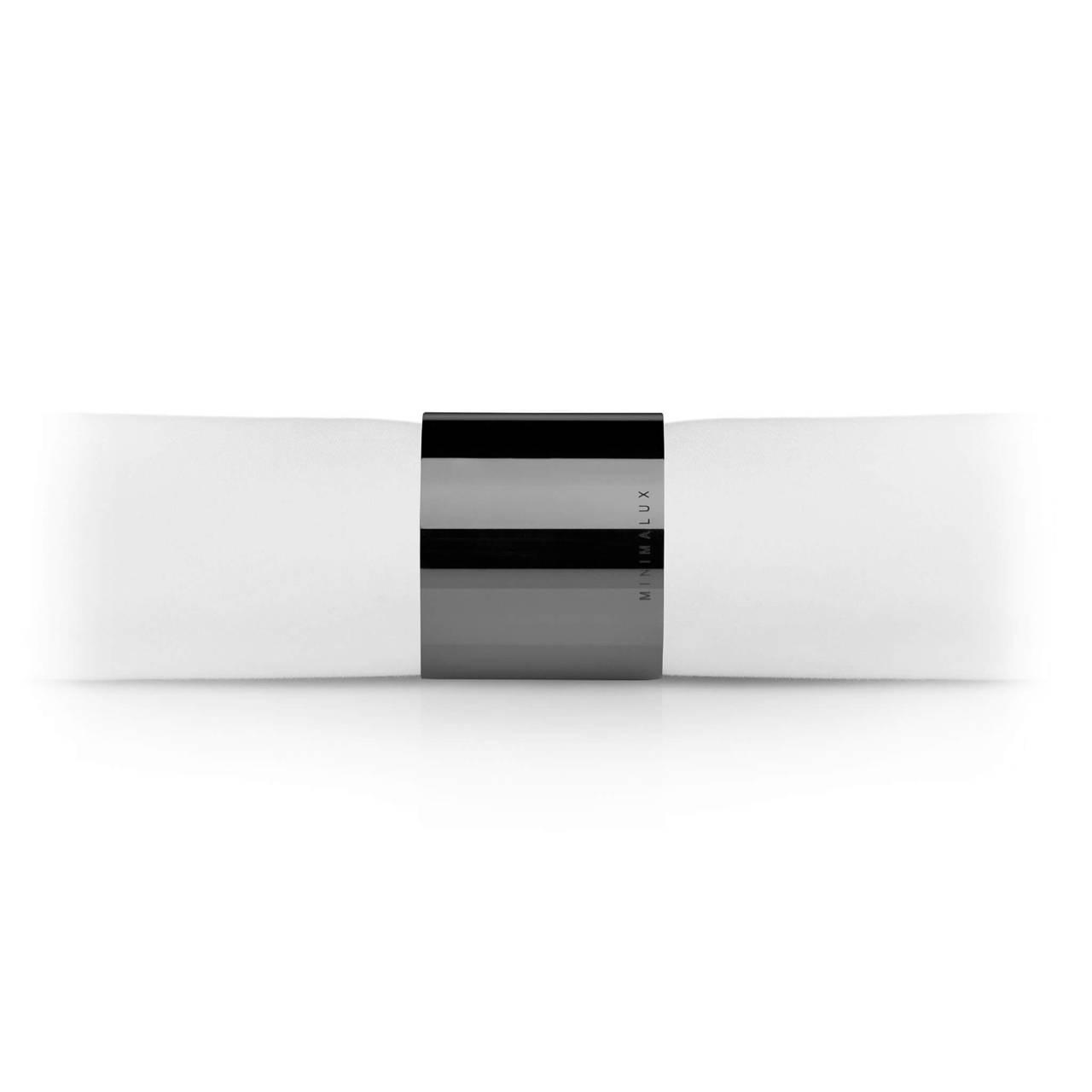 Tube Napkin Ring in Black Nickel