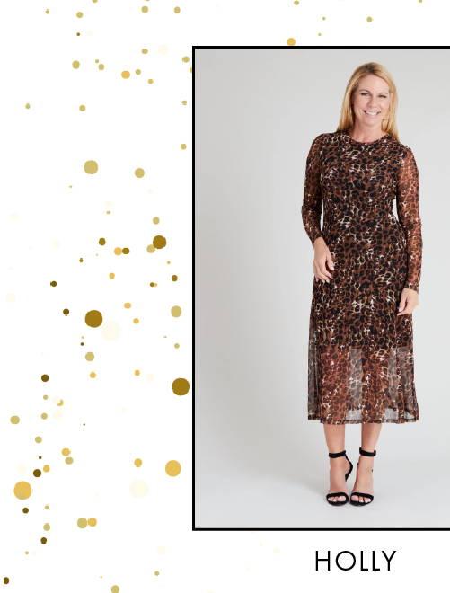 Shop Holly Print Dress >