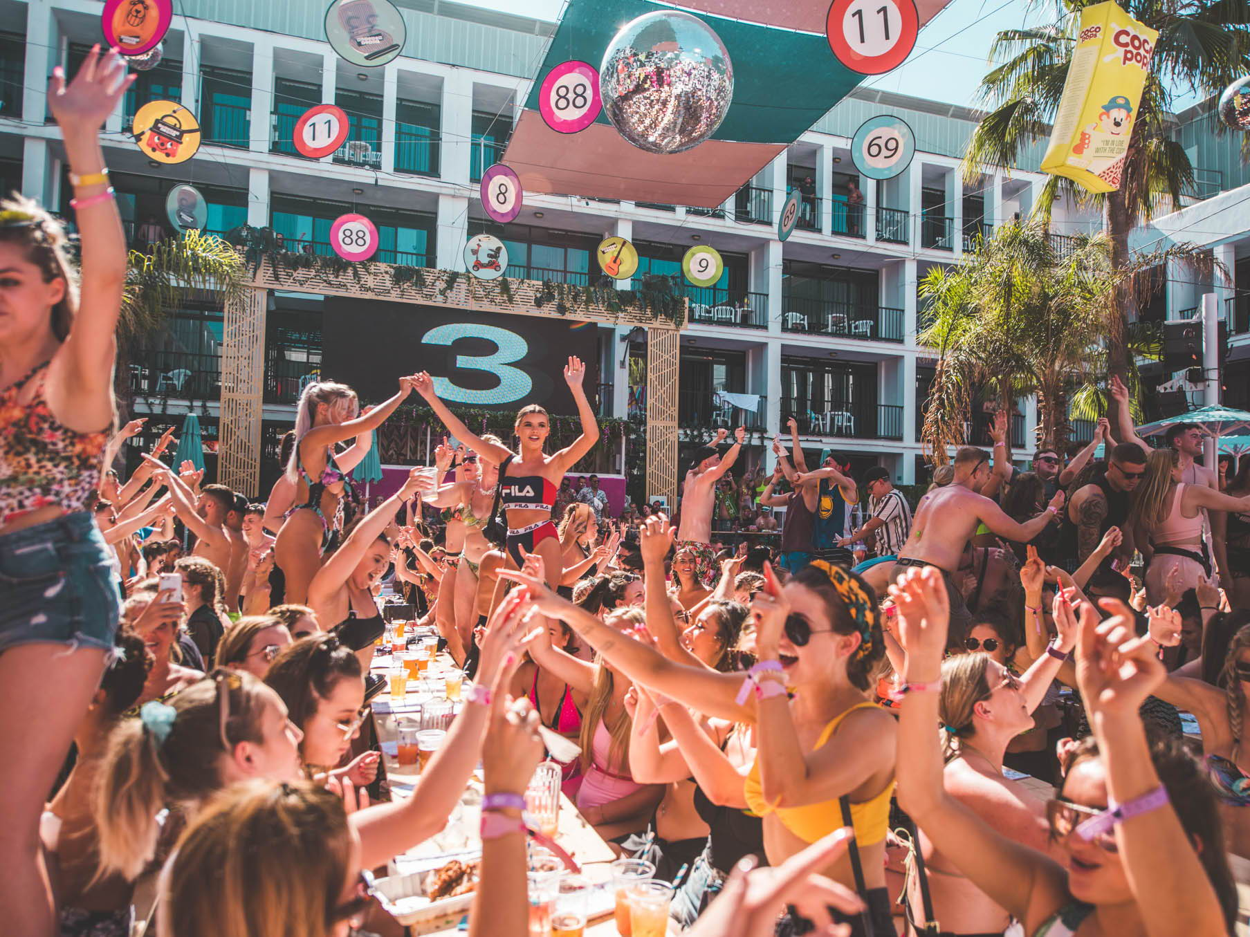 Bongos Bingos pool party Ibiza rocks tickets
