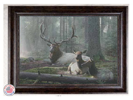 """The King's Lair"" Elk Giclée by Jay Kemp"