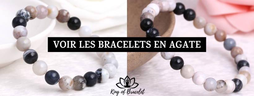 Bracelet Agate Dendritique - King of Bracelet