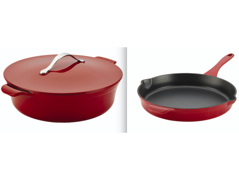 Stovetop-to-Oven-to-Table Cooking with Anolon Vesta Cast Iron Cookware