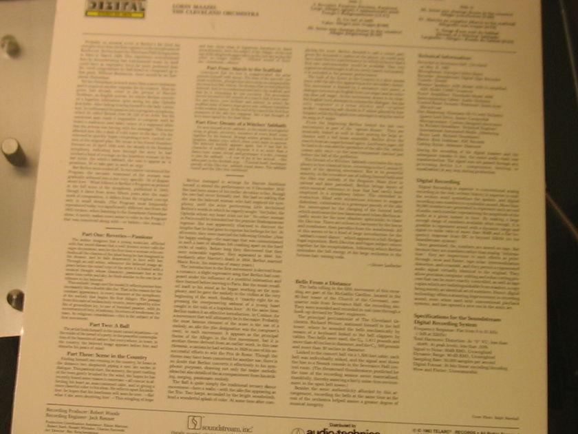 "Lorin Maazel The Cleveland Orchestra - Berlioz ""Symphonie Fantastique"" Telarc DG-10076 Unplayed"