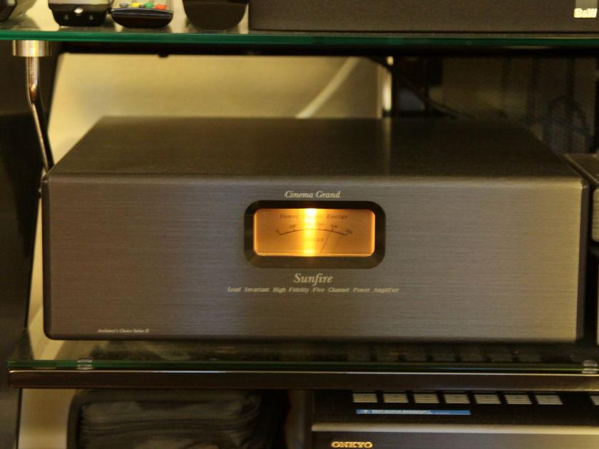 Sunfire Cinema Grand II 5 Channel Amplifier
